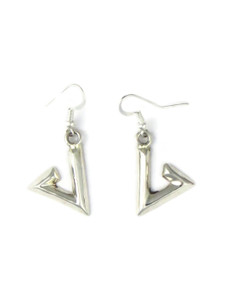 Silver Geometric Design Earrings by Teresa Bia (ER5813)