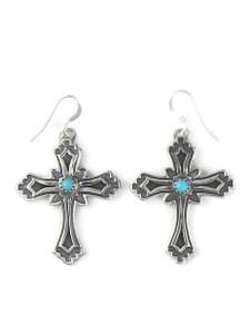 Turquoise Cross Earrings by Louise Joe (ER5819)