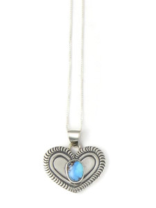 Golden Hills Turquoise Heart Pendant (PD4327)
