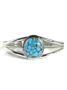 Kingman Turquoise Bracelet by Vincent Shorty (BR6387)