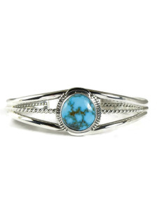 Kingman Turquoise Bracelet by Vincent Shorty (BR4317)