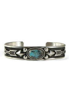 Pilot Mountain Turquoise Bracelet by Albert Jake (BR4370)