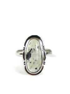 White Buffalo Ring Size 8 by Jake Sampson (RG5132)
