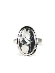 White Buffalo Ring Size 7 by Jake Sampson (RG5133)