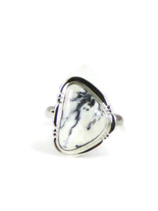 White Buffalo Ring Size 6 by Jake Sampson (RG5134)