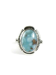 Golden Hills Turquoise Ring Size 7 by Shawn Francisco (RG5139)