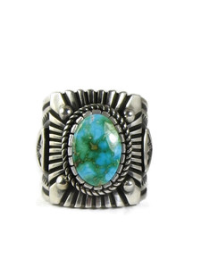 Sonoran Turquoise Ring Size 12 3/4 by Albert Jake (RG5143)
