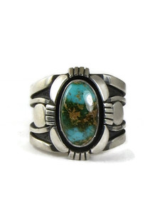 Royston Turquoise Ring Size 10 1/2 by Cooper Willie (RG5147)