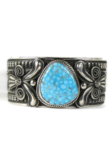 Kingman Turquoise Bracelet by Andy Cadman (BR6401)