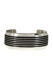 "Silver Channel Bracelet 7/8"" by Francis Jones (BR6403)"