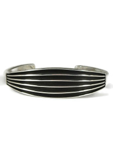 Silver Channel Bracelet by Francis Jones (BR6404)