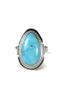 Kingman Turquoise Ring Size 9 by Jake Sampson (RG5150)