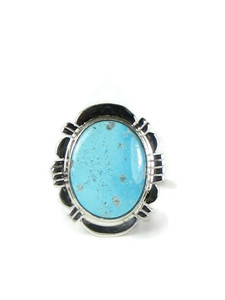 Kingman Turquoise Ring Size 7 by Phillip Sanchez (RG5151)