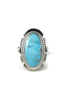 Kingman Turquoise Ring Size 7 by Larson Lee (RG5152)