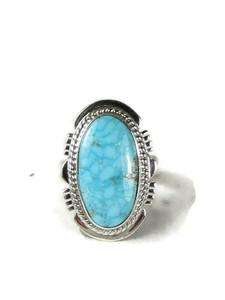 Kingman Turquoise Ring Size 7 by Larson Lee (RG5153)