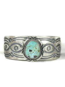 Dry Creek Turquoise Cuff Bracelet by John Nelson (BR6416)