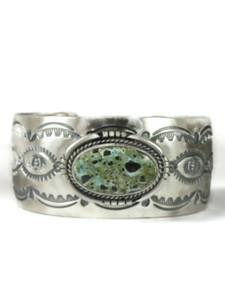 Dry Creek Turquoise Cuff Bracelet by John Nelson (BR6417)