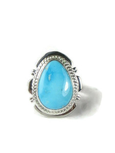 Blue Bird Turquoise Ring Size 6 by Larson Lee (RG5156)