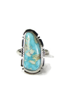 Fox Turquoise Ring Size 6 by Jake Sampson (RG5157)