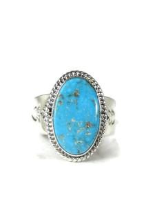 Kingman Turquoise Ring Size 11 by John Nelson (RG5158)