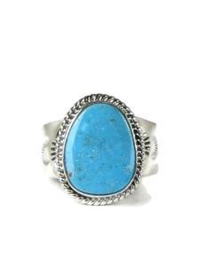 Kingman Turquoise Ring Size 12 by John Nelson (RG5159)