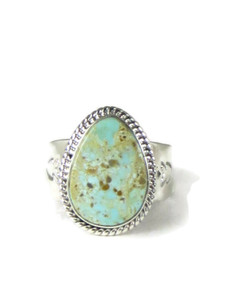 Dry Creek Turquoise Ring Size 11 by John Nelson (RG5164)