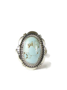 Dry Creek Turquoise Ring Size 7 by Ty Francisco (RG5172)