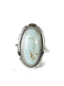 Dry Creek Turquoise Ring Size 9 by Ty Francisco (RG5173)