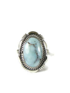 Dry Creek Turquoise Ring Size 8 by Ty Francisco (RG5175)