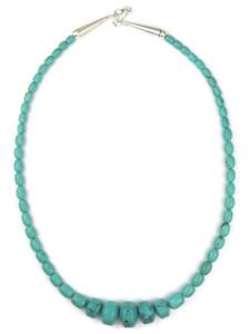 "Graduated Turquoise Beads 18 1/4"" (NK4873)"