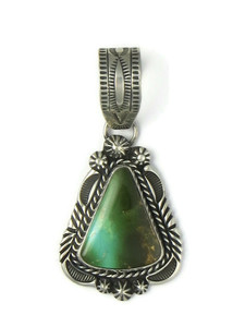 Royston Turquoise Pendant by Rick Werito (PD4378)