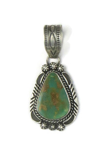 Royston Turquoise Pendant by Rick Werito (PD4379)