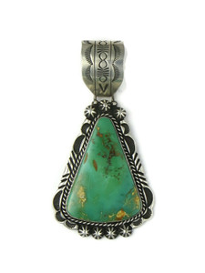 Royston Turquoise Pendant by Rick Werito (PD4380)