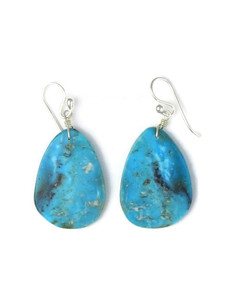 Turquoise Slab Earrings (ER5763)