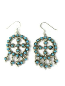 Turquoise Dangle Earrings by Wayne Johnson (ER5670)
