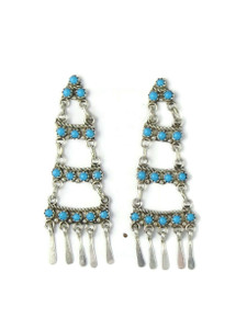 Turquoise Chandelier Dangle Earrings (ER5884)