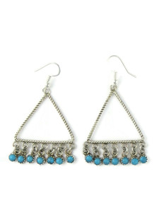 Turquoise Dangle Earrings (ER5885)