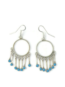 Turquoise Dangle Earrings (ER5886)