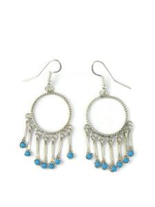Turquoise Dangle Earrings (ER5886)