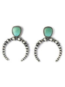 Royston Turquoise Beaded Naja Earrings (ER5888)