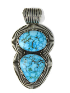 Large Golden Hills Turquoise Pendant by Albert Jake (PD4364)