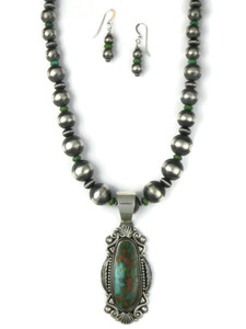 Royston Turquoise Necklace Set by Derrick Gordon (NK4895)