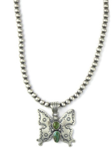 Sonoran Turquoise Butterfly Necklace (NK4900)