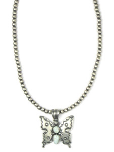Dry Creek Turquoise Butterfly Necklace (NK4902)