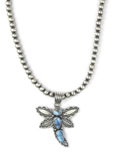 Golden Hills Turquoise Dragonfly Necklace (NK4905)