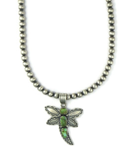 Sonoran Turquoise Dragonfly Necklace (NK4906)