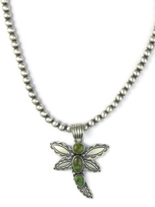 Sonoran Turquoise Dragonfly Necklace (NK4907)