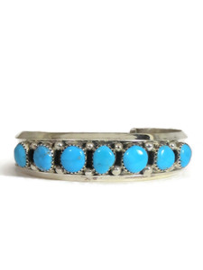 Turquoise Row Bracelet by Sarah Curley (BR6438)