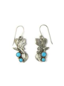 Sleeping Beauty Turquoise Eagle Earrings (ER5899)