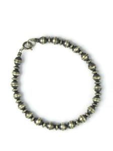 Silver Bead Bracelet 5mm (BR6440)